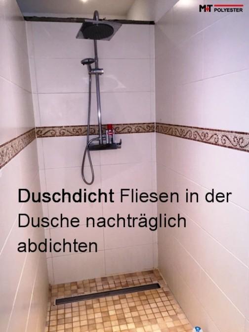 Details zu Duschdicht = Fliesen Fugen abdichten Dusche Farblos Versiegelung  abdichtung 250g